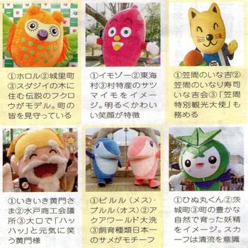 茨城ゆるキャラ図鑑